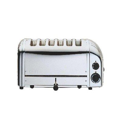 Dualit Dualit Toaster Edelstahl | 6 Slots | Scheiben auf 195 p / h