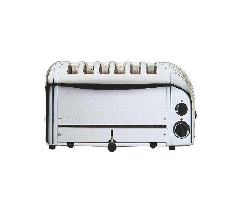 Dualit Dualit Toaster Edelstahl   6 Slots   Scheiben auf 195 p / h