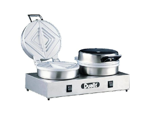Dualit Contact Broodrooster | Dualit | Dubbele Platen | 60 Sandwiches p/u