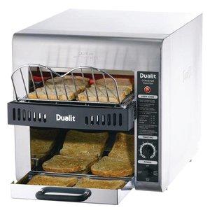 XXLselect Conveyor Turbo Toaster | Dubbele Rij | Dualit | 360 Sneetjes p/u