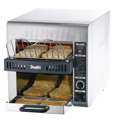 Dualit Conveyor Turbo Toaster | Double Row | Dualit | 360 slits p / u