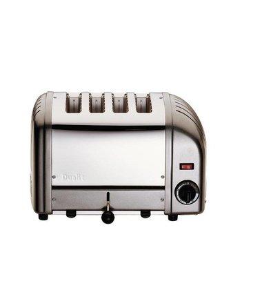 Dualit Toaster Grau | 4 Slots | Dualit | Scheiben von bis zu 130 p / h