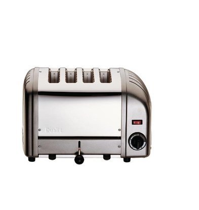 Dualit Toaster Gray | 4 Slots | Dualit | Up to 130 slices p / u