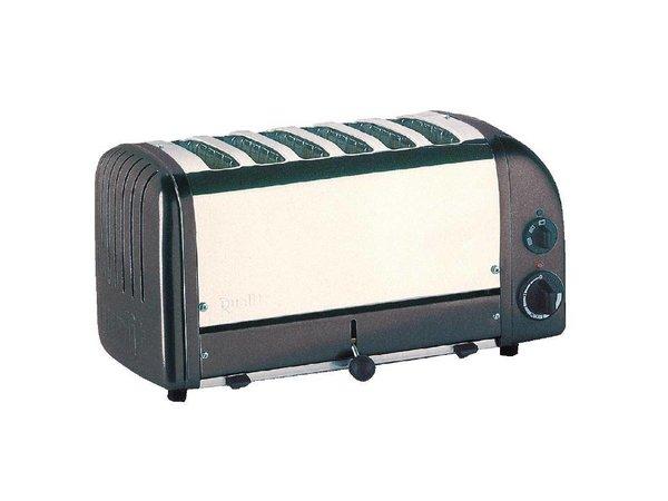 Dualit Vario Toaster Grau | 6 Slots | Dualit | Scheiben auf 195 p / h
