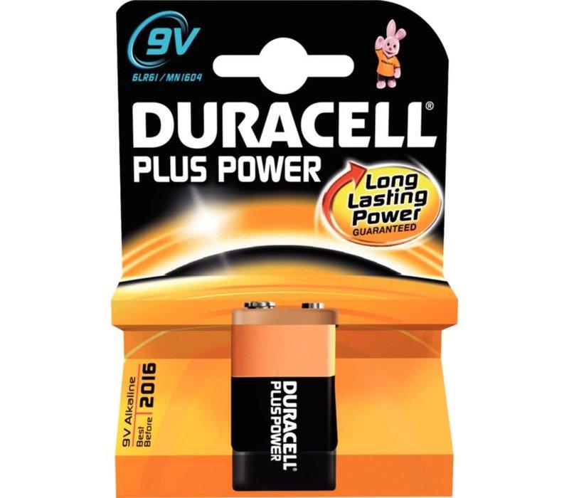 Duracell Duracell Batterij 9V   Per stuk