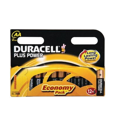 Duracell Duracell Batterij AA | Pakje 12 Stuks