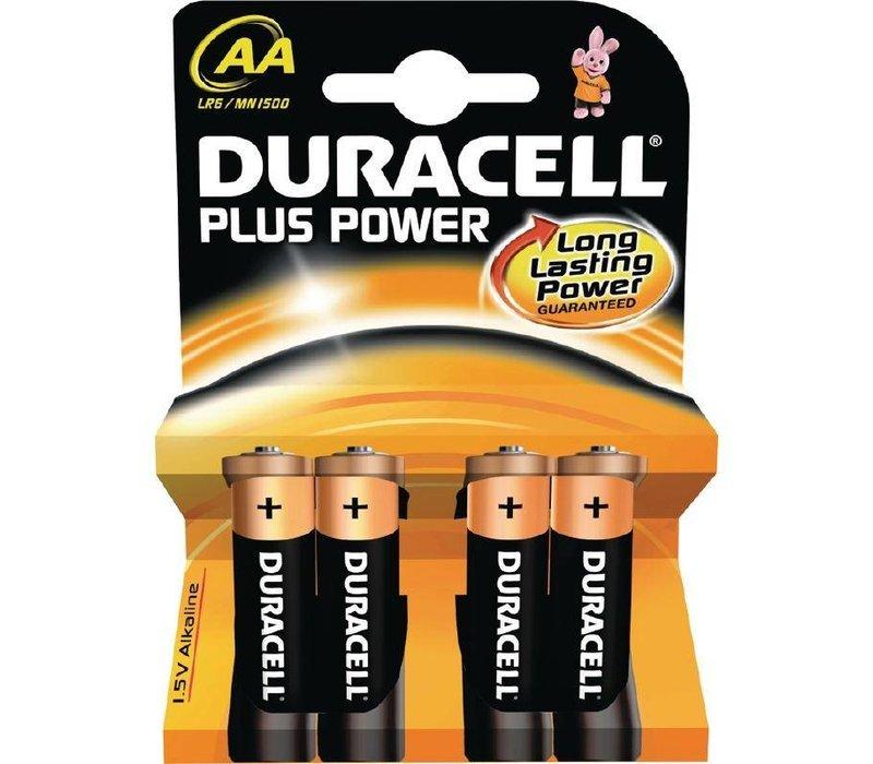 Duracell Duracell Batterij AA | Pakje 4 Stuks