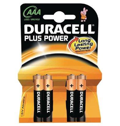 XXLselect Duracell Batterij AAA | Pakje 4 Stuks