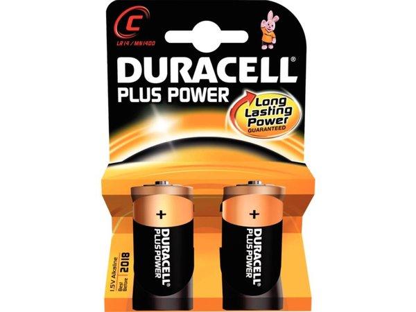 Duracell Duracell Batterij C | Pakje 2 Stuks