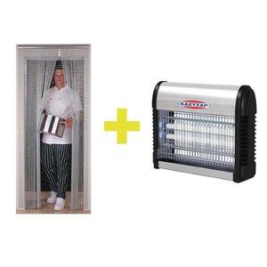 XXLselect Insektenvernichter Insekt + Vorhang EasyZap | SPECIAL SET