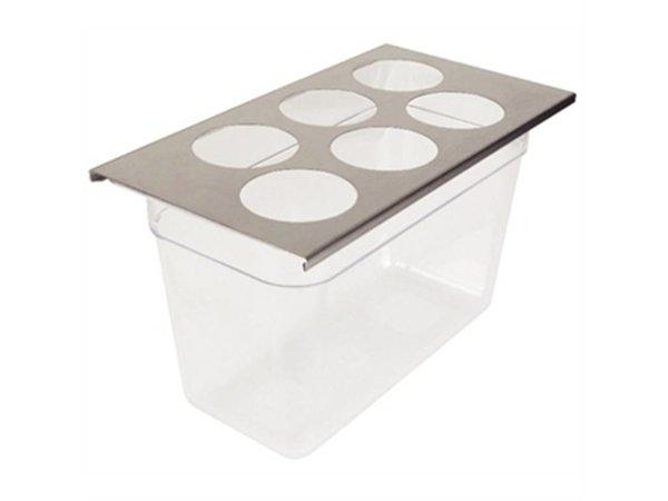 FIFO FIFO Dispenser Organiser | 6-Gaats | GN 1/3