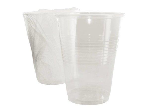 XXLselect Disposable Drinkglazen | Helder | 255ml | Per 500