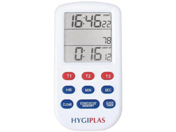 Hygiplas Triple Timer | Up to 20 hours