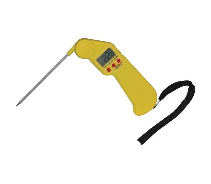 Hygiplas Zakthermometer Geel   Hygiplas Easytemp