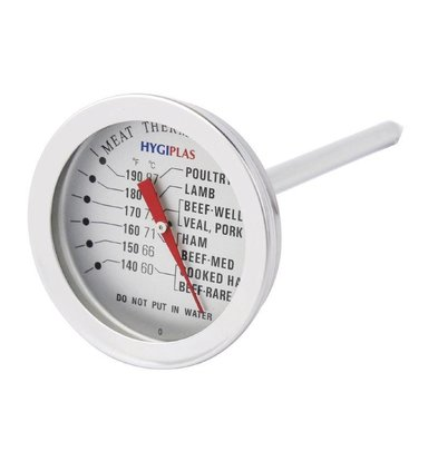 XXLselect Vleesthermometer Hygiplas | +60°C tot +87°C | Ø50mm