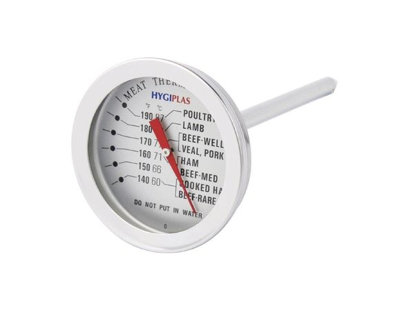 Hygiplas Vleesthermometer Hygiplas   +60°C tot +87°C   Ø50mm