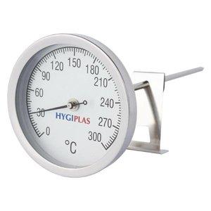 XXLselect Fleischthermometer Hygiplas | 0 bis + 300 ° C