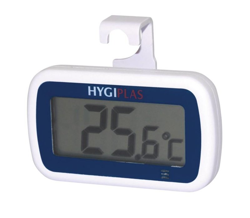 Hygiplas Mini Thermometer Wit | Waterdicht | -25°C tot +50°C | Hygiplas