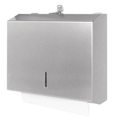 XXLselect Handdoekdispenser RVS | Jantex | 260x110x285(h)mm