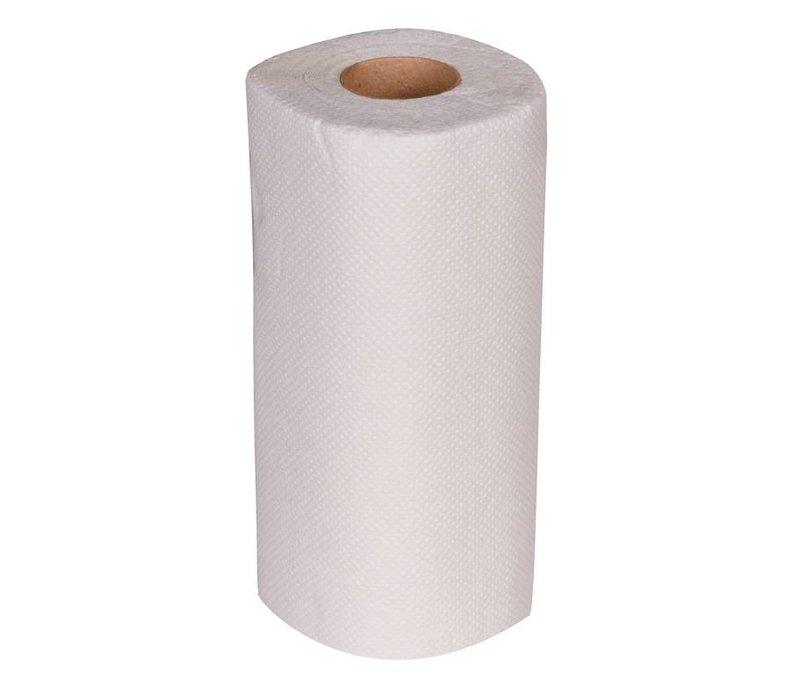 XXLselect Keukenrol Wit | 2-laags | Jantex | 24 Rollen x 10m