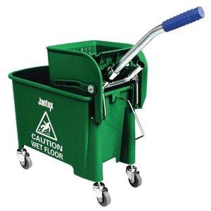 XXLselect Mopemmer met Wringer   Jantex   20 Liter   Groen