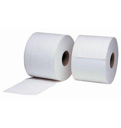 XXLselect Toiletrollen | Wit 2-laags | Jantex | 36 Rollen x 320 Vellen