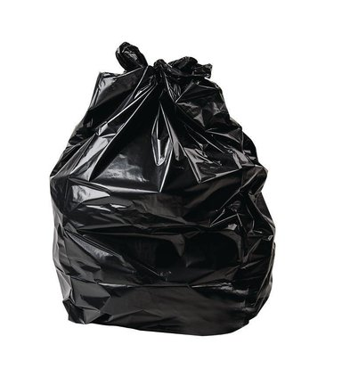 Jantex Black garbage bags | High Quality | 80 Liter | 200 Pieces