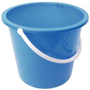 XXLselect Emmer Plastic | 10 Liter | Blauw
