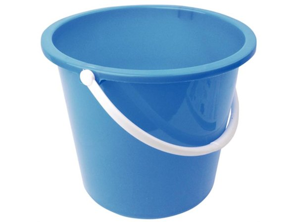 XXLselect Plastic bucket | 10 Liter | Blue