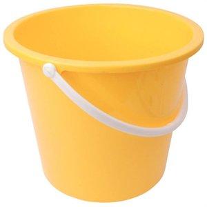 XXLselect Plastic bucket | 10 Liter | Yellow