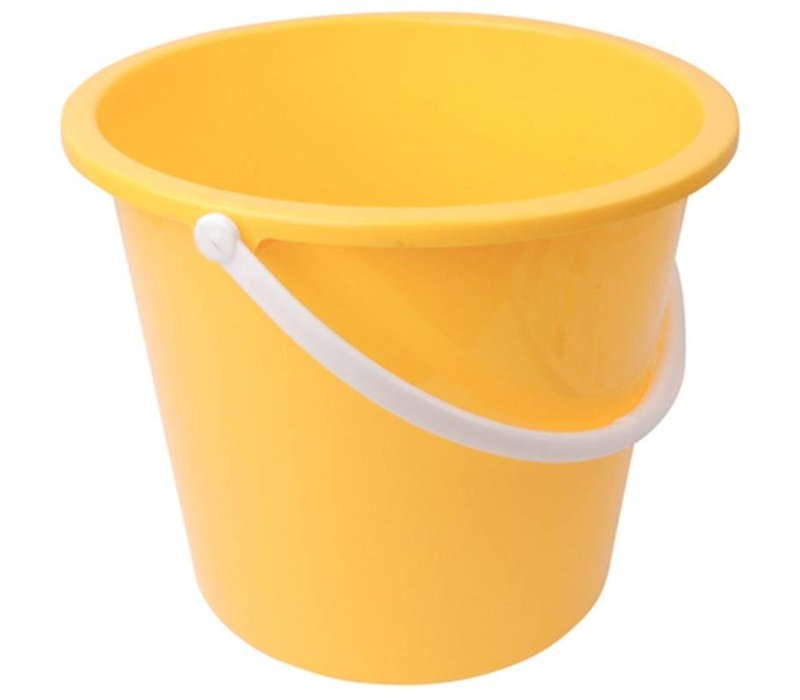 XXLselect Plastic bucket   10 Liter   Yellow