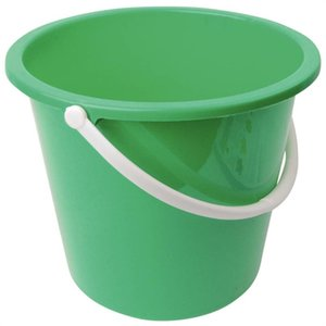 XXLselect Plastic bucket | 10 Liter | Green