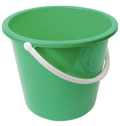 Jantex Kunststoff-Eimer | 10 Liter | grün