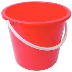 XXLselect Kunststoff-Eimer | 10 Liter | rot