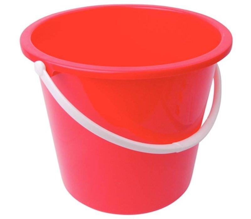 XXLselect Plastic bucket | 10 Liter | Red