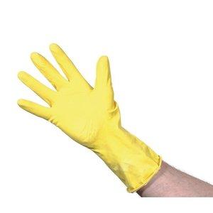 XXLselect Latex Handschoenen   Jantex   Geel   Beschikbaar in 3 Maten