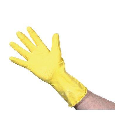 XXLselect Latex Handschoenen | Jantex | Geel | Beschikbaar in 3 Maten