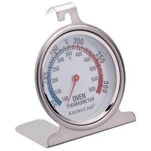 XXLselect Oventhermometer RVS | 0°C tot 300°C | 70x76mm