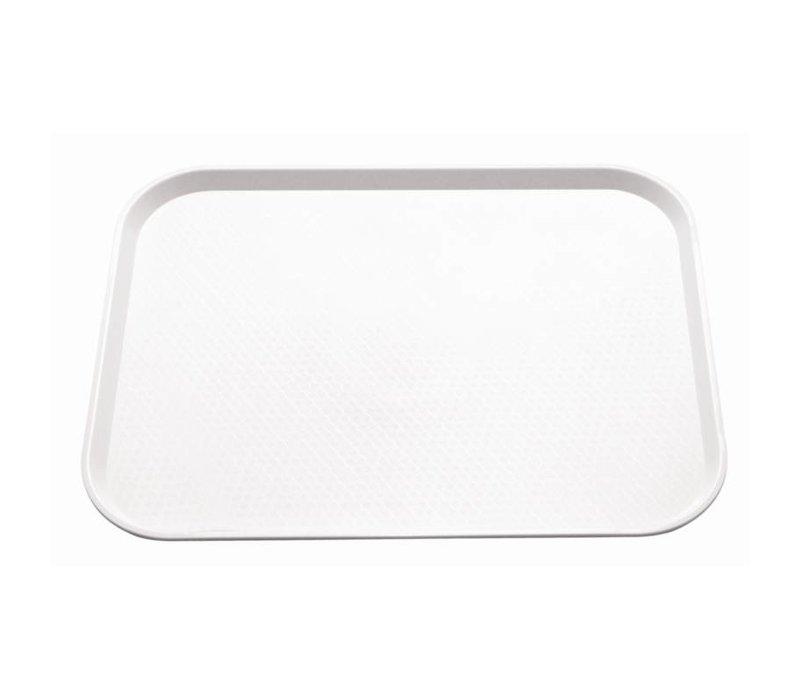 XXLselect Dienblad Ruw Oppervlak | Wit | 415x305mm