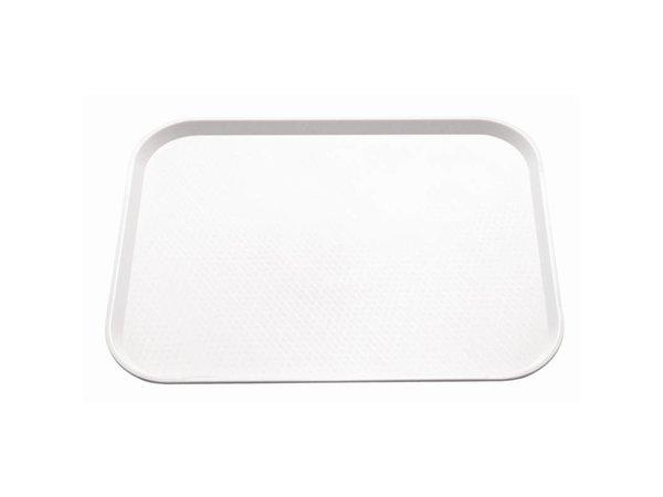 XXLselect Dienblad Ruw Oppervlak | Wit | 450x350mm