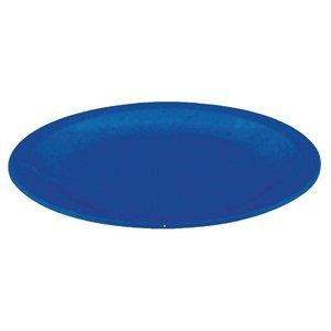 XXLselect Bord Blauw | Polycarbonaat | Ø170mm | Per 12 Stuks