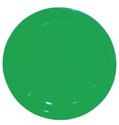 Kristallon Bord Groen | Polycarbonaat | Ø170mm | Per 12 Stuks