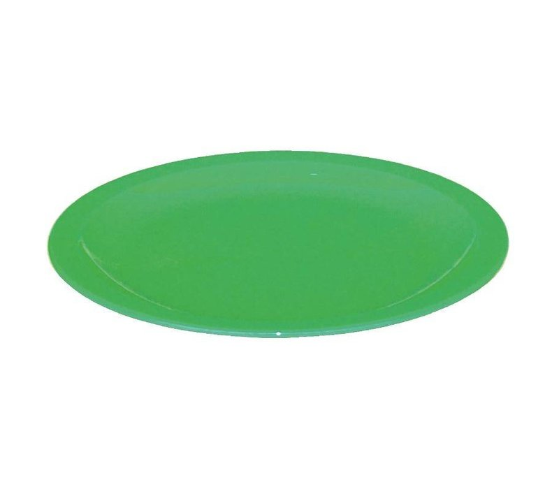 XXLselect Bord Groen | Polycarbonaat | Ø170mm | Per 12 Stuks