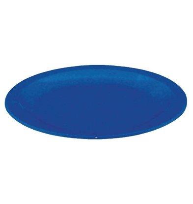 Kristallon Bord Blauw | Polycarbonaat | Ø230mm | Per 12 Stuks