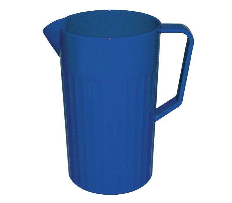XXLselect Schenkkan Blauw | Polycarbonaat | 1,1 Liter