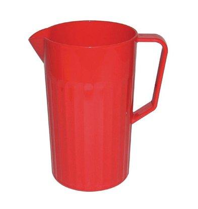 XXLselect Schenkkan Rood | Polycarbonaat | 1,1 Liter