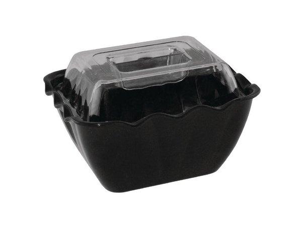 XXLselect Verhoogde Deksel   voor Melamine Schaal 0,75 Liter