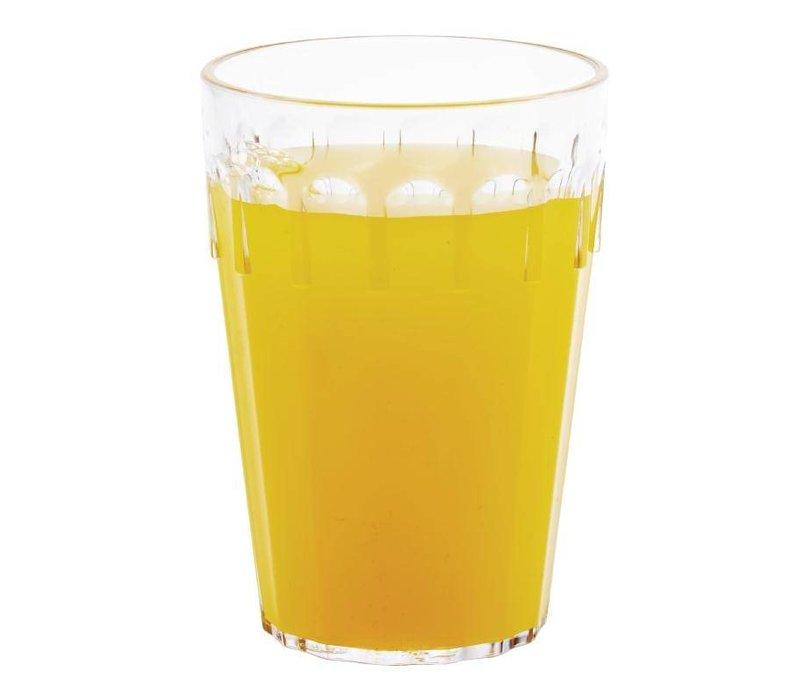 XXLselect Tumbler Glas | Polycarbonaat | 280ml | 12 Stuks