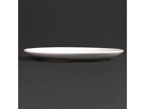 XXLselect Coupe Bord | Lumina Wit Porselein | 200mm | 6 Stuks