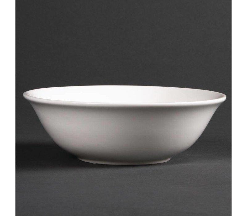 XXLselect Dessertschaaltje | Lumina Wit Porselein | 160mm | 6 Stuks